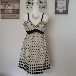 Polka Dot Dress or Tunic NWOT